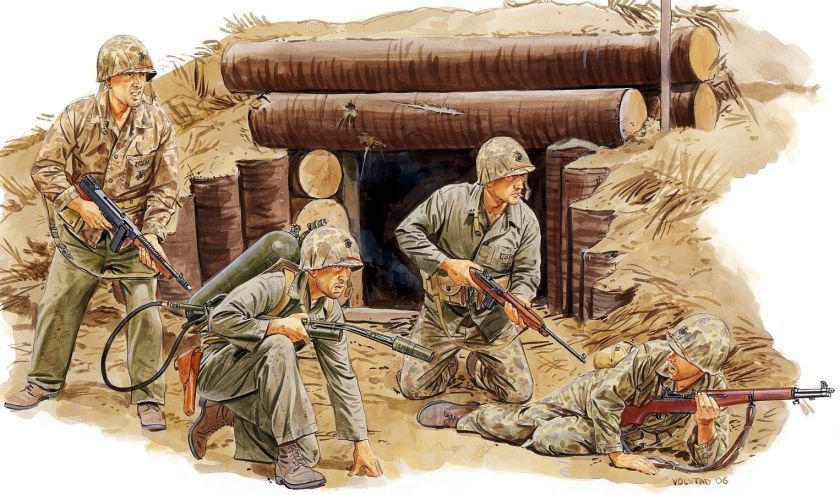 2nd USMC dv Tarawa 1944