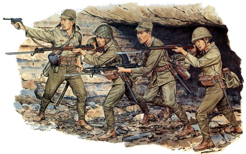 japanese infantry Iwo Jima 1945