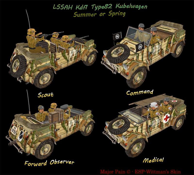 LSSAH Kdf1 Type82 Kubelwagen Springr