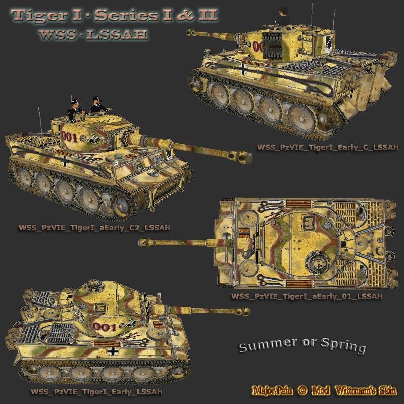 WSS PzVIE Tigers I LSSAH Summer or Spring