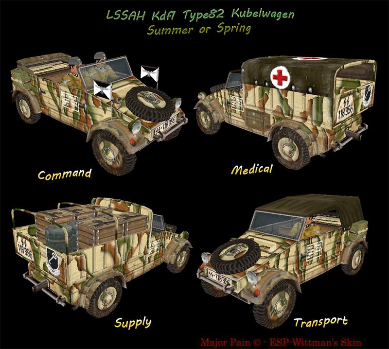 LSSAH Kdf1 Type82 Kubelwagen Summer or Spring